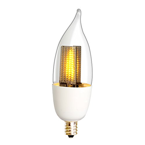 Euri Lighting Flickering Flame Bulb Eca9 5 1120fc Led Ca9